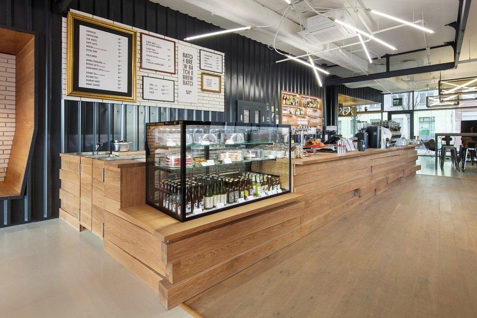 Kavárna Rebelbean, Brno.