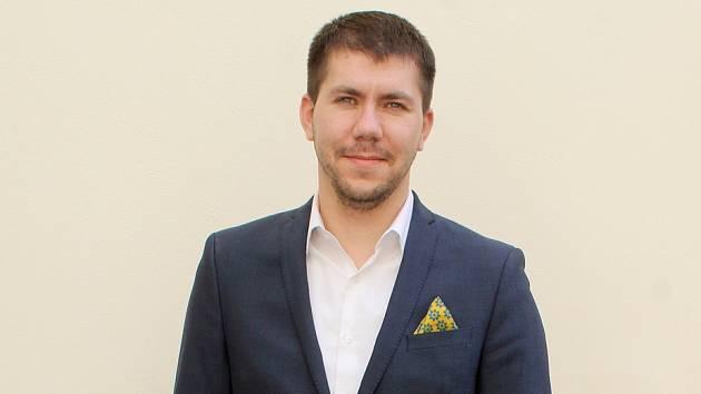 Jednatřicetiletý místostarosta Znojma Jakub Malačka.