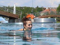Od 20. května je v provozu znojemská plovárna v Louce.