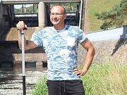 Znojemský vodák David Gros.