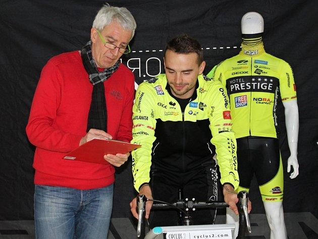 V cykloprodejně na Hatích u Znojma se během dvou dnů mohli přijít vyšetřit profesionální i hobby sportovci a zjistit tak své fyzické limity.