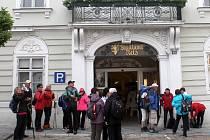 Společný Eurovýšlap Retz - Znojmo turistů z České republiky a Rakouska.