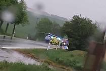 Při dopravní nehodě na Znojemsku zemřel člověk.