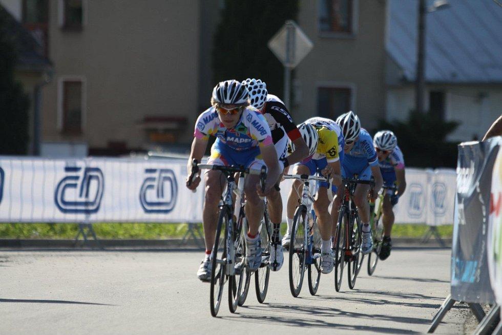 Cyklista Vojtěch Toman, letošní mistr republiky kadetů