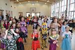 Děti v Citonicích skotačily na maškarním karnevalu. Foto: archiv obce