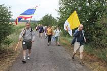 Na třináctou pěší pouť z Vranova nad Dyjí a Znojma na Velehrad vyrazili počátkem týdne poutníci ze Znojemska.