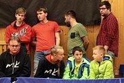 Stolní tenistky Moravského Krumlova postoupili do čtvrtfinále evropského poháru. V sobotu porazily na domácím hřišti chorvatskou Dugu Resa 3:0.