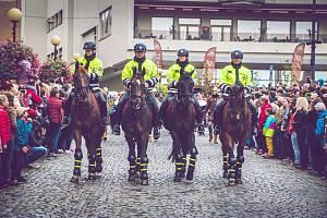 Porušení zákazu vjezdu, krádež batohu i kabelu řešili policisté na Znojemském vinobraní. Řidič měl v krvi 1,69 promile.