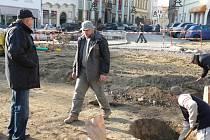 Archeologické vykopávky na Horním náměstí