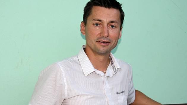 Předseda kanoistického oddílu Znojmo Petr Štěrba.