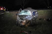 Smrtelná dopravní nehoda u Lechovic