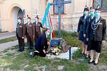 Orli ve Znojmě uctili památku obětí II. světové války a svých padlých hrdinů.