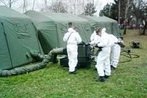 Dekontaminační stan