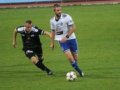 Znojemští fotbalisté zůstávají stále ve FNL neporaženi. Ambiciozní Otroky z Hradce Králové zdolali 2:1