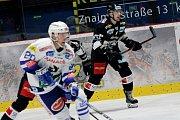 Hokejoví Orli Znojmo sehráli v úterý zápas proti rakouskému Villachu v rámci soutěže EBEL.