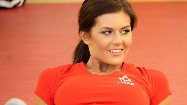 První vicemiss aerobik 2013 Nela Mandátová.