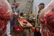 Sedmé zabijačkové hody uspořádali v sobotu nadšenci ve Výrovicích na Znojemsku.