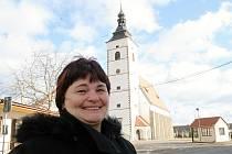 Starostka Běhařovic Iveta Moudrá otevírá dveře místního úřadu už skoro čtvrt století.