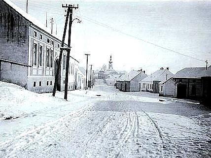 Blížkovice v roce 1947
