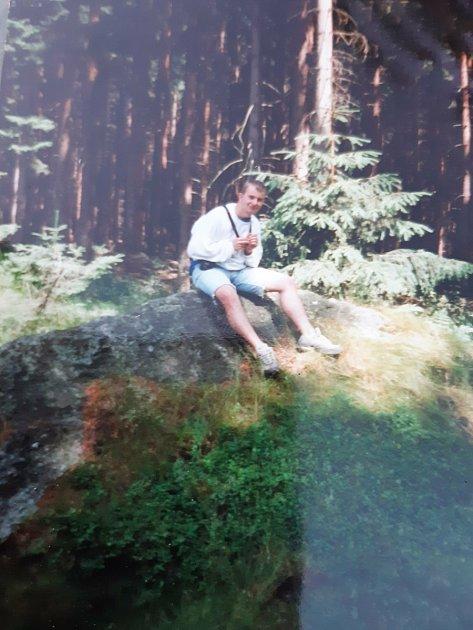 Na výletě ve Zlatých horách vroce 2001.Foto: Archiv Tomáše Hájka