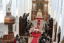 Svatováclavská pouť v kostele sv. Václava v Louce.