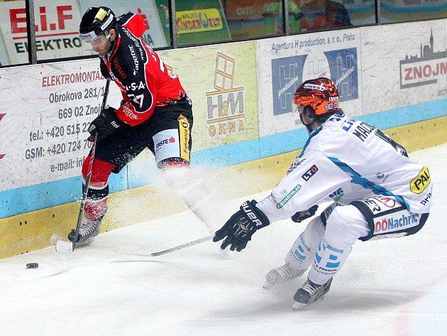 Orli v úvodním zápase série mezinárodní soutěže EBEL porazili Linec 4:3 v prodloužení.