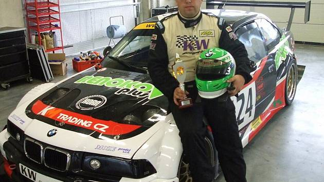 Automobilový závodník Milan Braun.