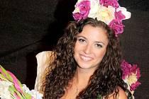 Vítězka soutěže krásy Miss pláž 2010 Eliška Urbancová z Telče.