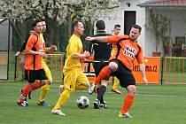 Fotbalisté IE Znojmo podlehli na domácí půdě mužstvu z Vojkovic 2:4.