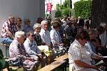 Výročí posvěcení kostela a založení vsi oslavili v neděli lidé ve znojemských Příměticích.