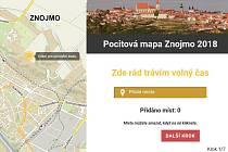 Ještě do pátku 4. května mohou obyvatelé Znojma elektronicky naznačit v mapě města, kde tráví volný čas, kde je zanedbané prostředí nebo kde se necítí bezpečně.