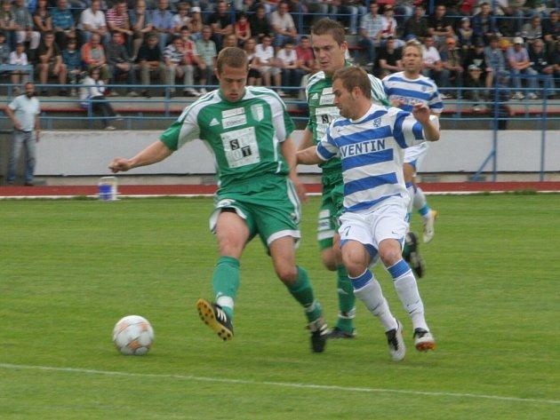 MSFL: 1. SC Znojmo - Bystrc (v zeleném)