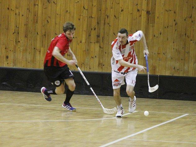 Florbalisté Znojma sehráli další utkání první ligy a zdolali Svitavy.