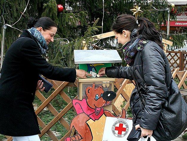 Český červený kříž vybral ve Znojmě necelých 12 tisíc korun.