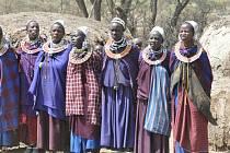 Vzpomínka na návštěvu masajské vesnice v Tanzánii.