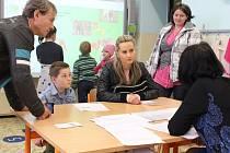 K zápisu do prvních tříd přišlo sedmadvacet dětí.