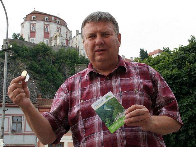 Starosta Vranova nad Dyjí Lubomír Vedra.