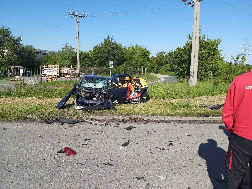 V červnu nehoda zablokovala u Mikulova provoz na silnici I/52.