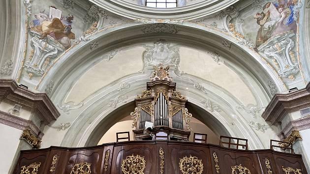 Varhany na Hradišti čeká oprava. Jsou zřejmě nejstarší ve Znojmě