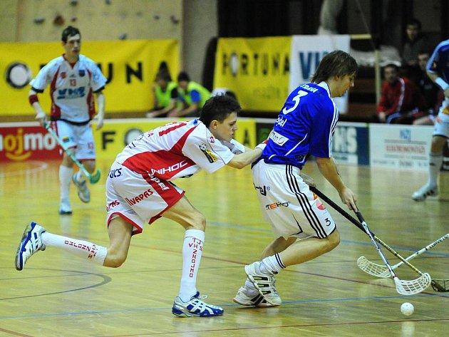 VHS Znojmo (v bílém) vs FBC Ostrava
