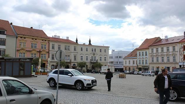 Horní náměstí ve Znojmě. Ilustrační foto.