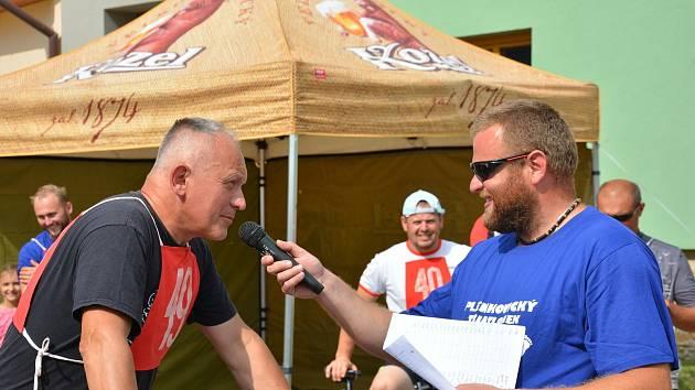 Letošního Plenkovického triatlonku se účastnilo přes padesát startujících.