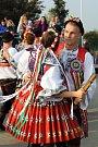 Hrádečtí oslavili o víkendu tradiční krojované hody.