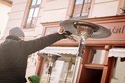 Kouda´s Quartet s kapelníkem a trumpetistou Ladislavem Kouckým přilákala na svůj tříhodinový program několik stovek lidí.