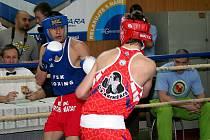 Junior Bohumil Kočka v ringu.