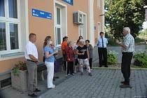 V Hodonicích si připomněli 150 let od jízdy prvního vlaku z tamní stanice.