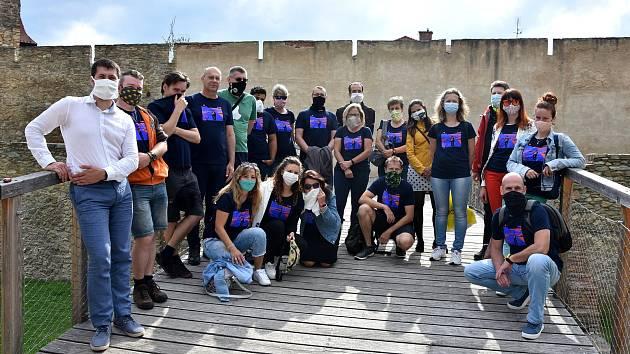Znojemští účastníci soutěže Do práce na kole převzali ocenění. Foto: archiv znojemské radnice