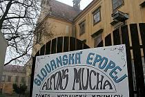 Slovanská epopej Alfonse Muchy v Moravském Krumlově.