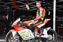 Závodník Michal Kolek.