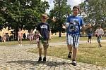 Dobrovolníci z Jižní Koreje navštívili Moravský Krumlov.